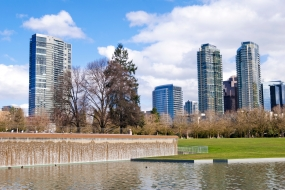 Bellevue Skyline from Downtown Park